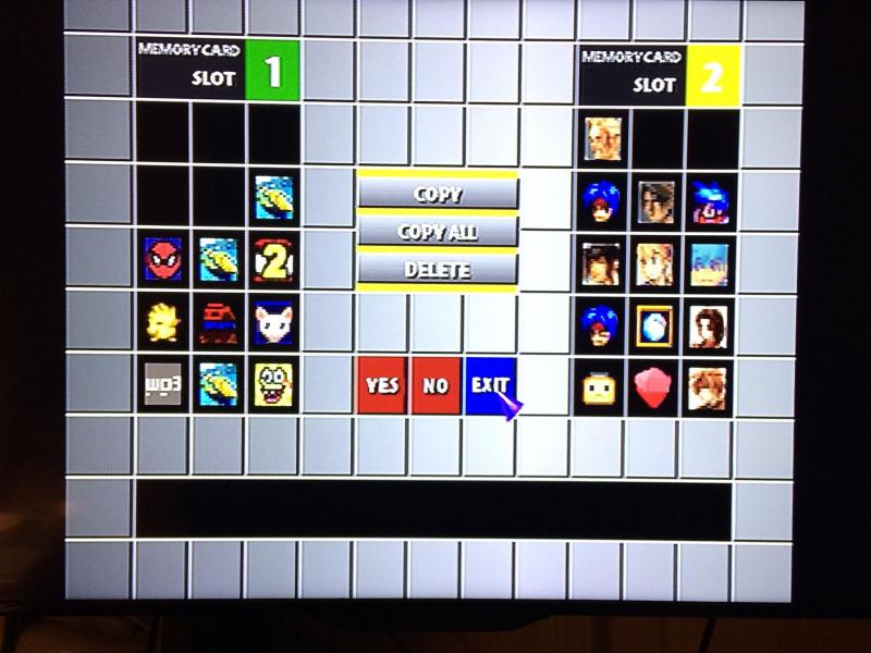 На экране работы с картами памяти можно было провести дольше, чем в самих играх, поскольку удаление сохранений — дело ответственное. (Источник — Reddit)