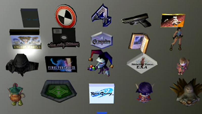 Содержимое карточки памяти выглядело как-то так. Посмотреть анимированные иконки можно в материале Kotaku, из которого взят скриншот