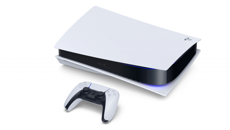В свежем поколении Sony решила представить весьма занимательный дизайн консоли. Выглядит классно