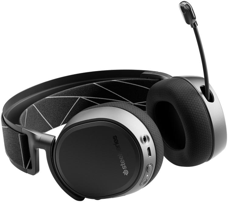 Беспроводная игровая гарнитура SteelSeries Arctis 9 может воспроизводить звук сразу от двух источников