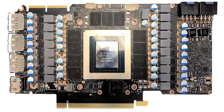 Референсный дизайн платы NVIDIA PG132 для модели GeForce RTX 3090