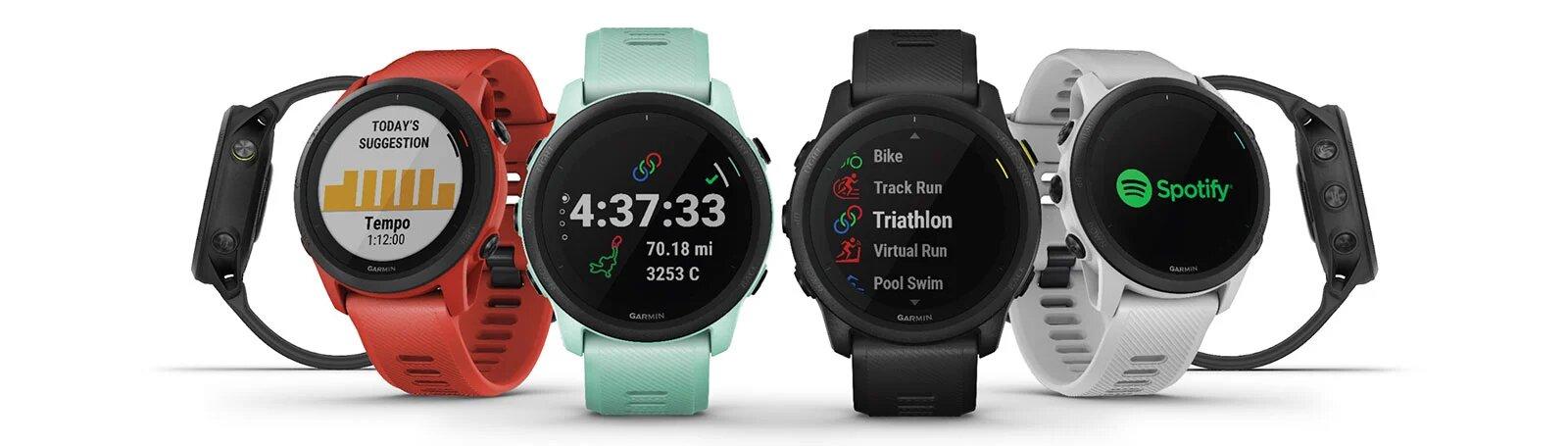 Смарт-часы Garmin Forerunner 745 предназначены для профессиональных и не очень спортсменов
