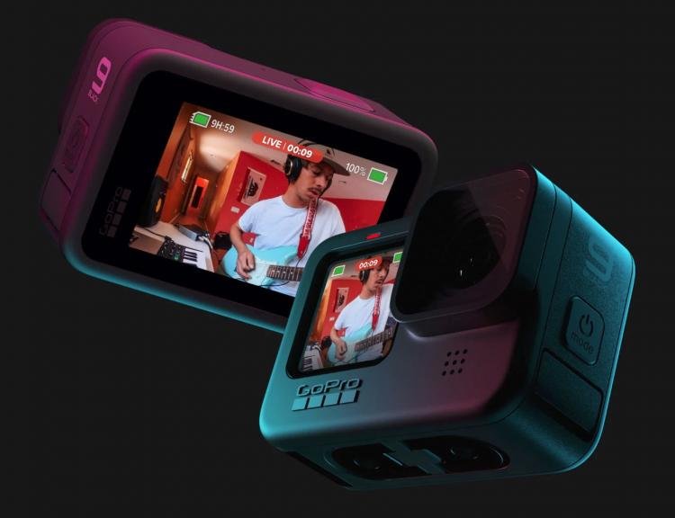 Представлена GoPro Hero 9 Black: два цветных экрана, 20-Мп датчик, видео 5K и увеличенная батарея за $450
