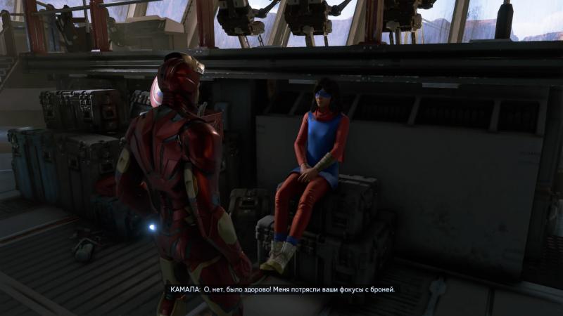 Между миссиями можно пообщаться с героями на корабле