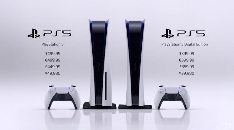 Sony раскрыла цены и дату выхода PlayStation 5: от 9 и релиз в ноябре