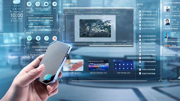 Alibaba представила альтернативу компьютерам на Chrome OS, которая умещается на ладони