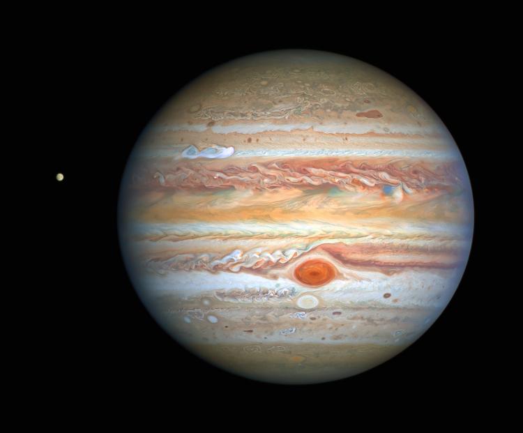 Фото дня: новый взгляд на неспокойный мир Юпитера