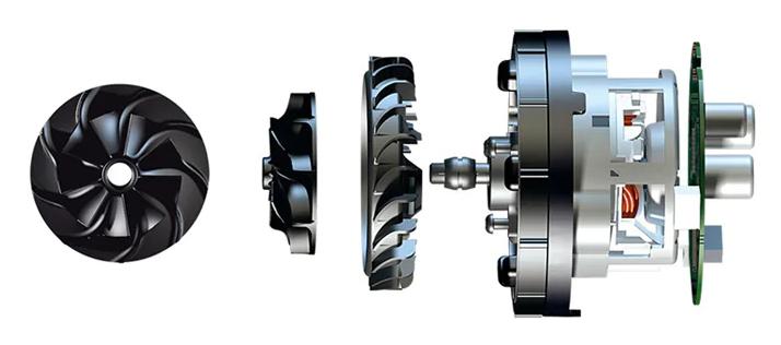 Конструкция двигателя Smart Inverter Motor P9