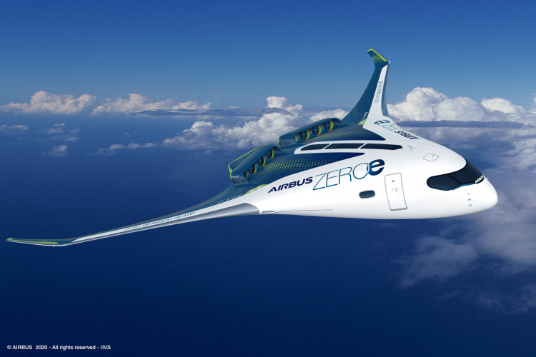 Airbus представила концепты авиалайнеров с водородным двигателем — запуск в 2035 году
