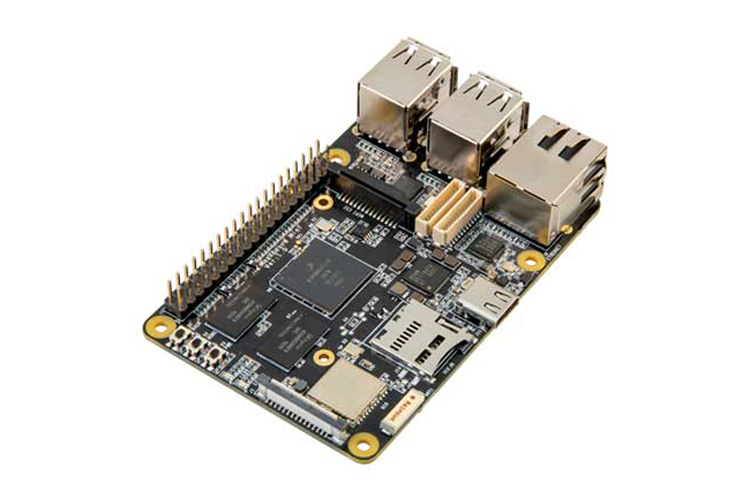 """Одноплатный компьютер MaaxBoard Mini уступает Raspberry Pi 4 по оснащению, но стоит $73"""""""