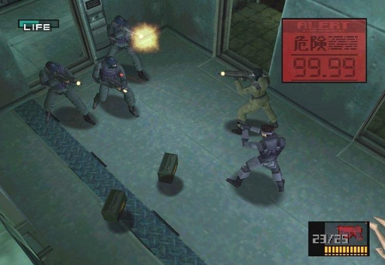Слухи: Konami перевыпустит две первые части Metal Gear Solid на ПК