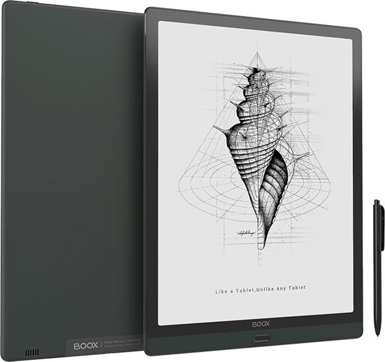 Планшет Onyx Boox Max Lumi с большим экраном на электронных чернилах оценён в $880
