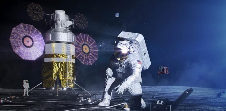 NASA опубликовало план по возвращению человека на Луну в 2024 году