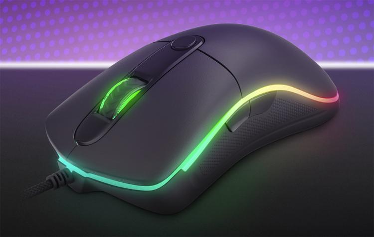 Игровая мышь Genesis Krypton 510 с подсветкой RGB и переключателями Omron стоит €23