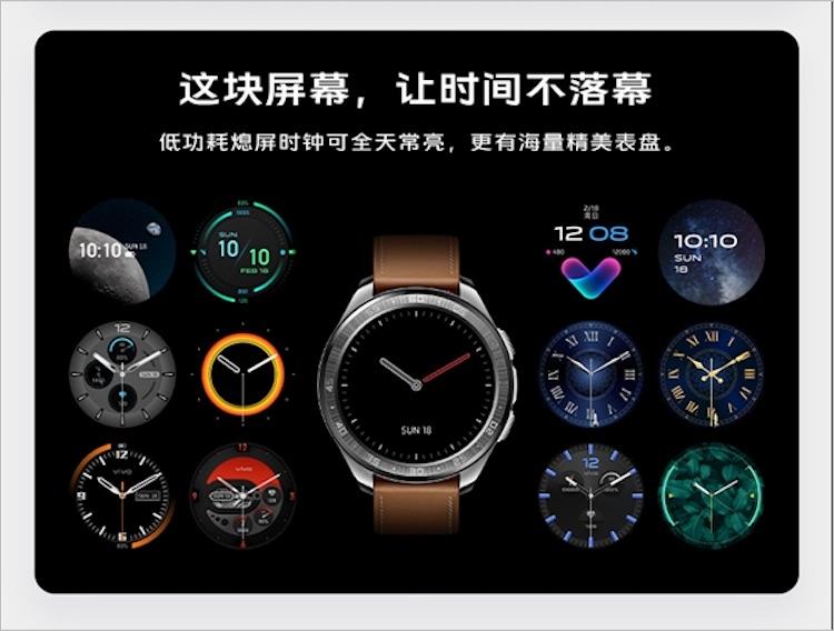 Продвинутые умные часы Vivo Watch предложат до 18 дней автономной работы по цене $191