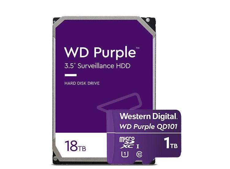 Western Digital представила жёсткие диски Red Pro и Purple вместимостью 18 Тбайт