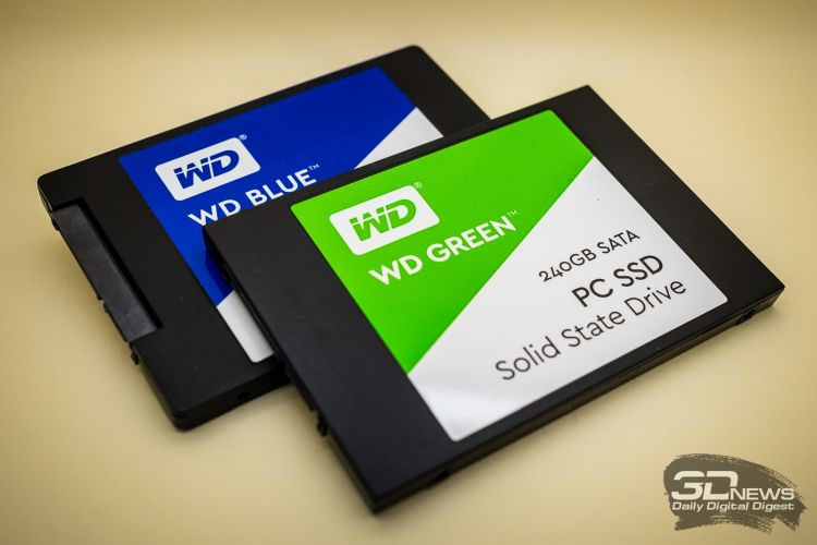 Western Digital отделит бизнес твердотельных накопителей, чтобы увеличить его капитализацию