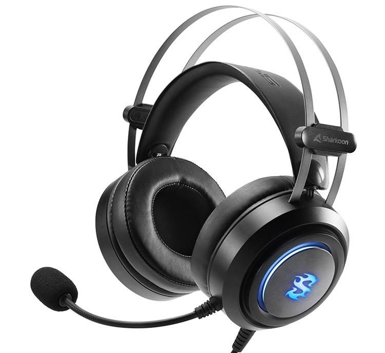 Гарнитура игрового класса Sharkoon Skiller SGH30 создаёт виртуальный звук 7.1