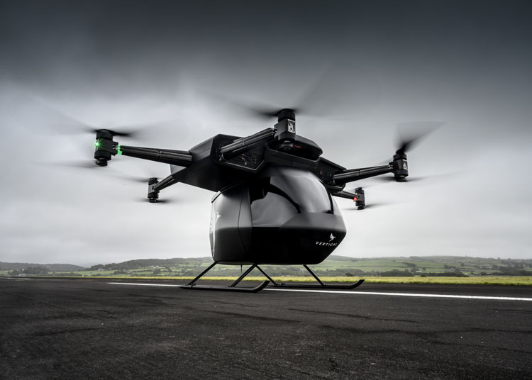 Действующий прототип (демонстратор) электрического воздушного судна Vertical Aerospace