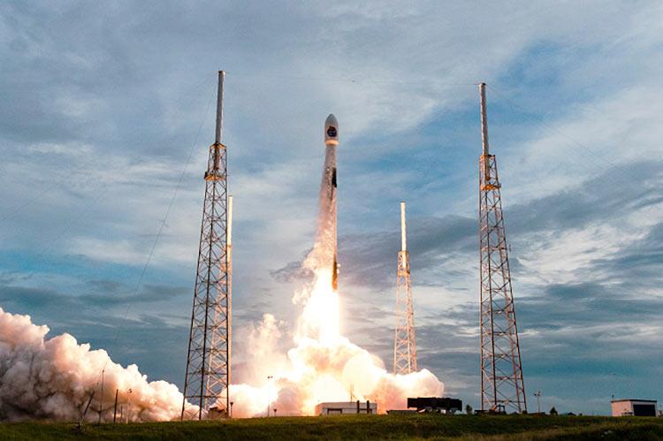 Ракета SpaceX Falcon 9 с орбитальной миссией SAOCOM-1B