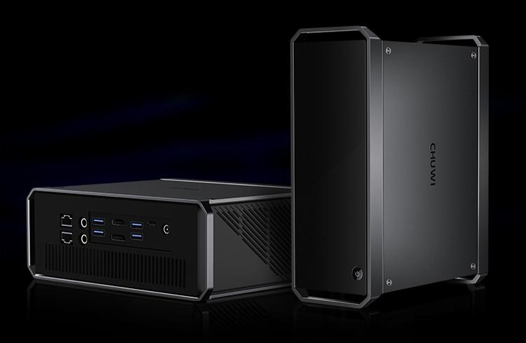 """Компактный компьютер Chuwi CoreBox Pro на процессоре Intel Ice Lake заключён в двухлитровый корпус и стоит $399"""""""