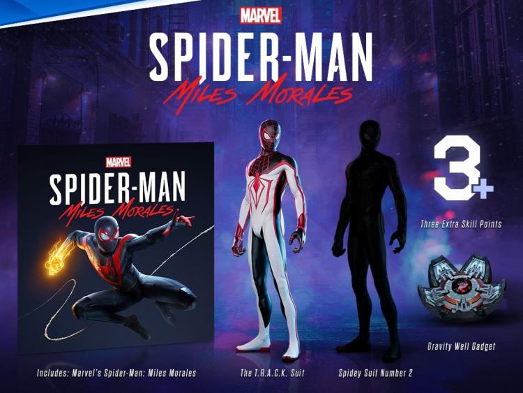 Бонусы за предзаказ Marvel's Spider-Man: Miles Morales