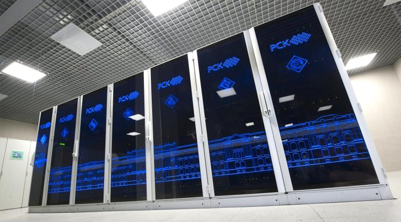 Вычислительная система «Политехник — РСК Торнадо», установленная в суперкомпьютерном центре Санкт-Петербургского политехнического университета