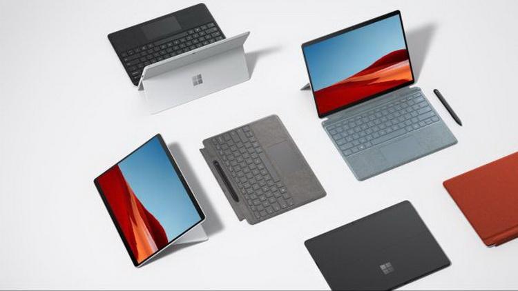Microsoft представила доступный ноутбук Surface Laptop Go и обновлённый ARM-планшет Surface Pro X за $1500