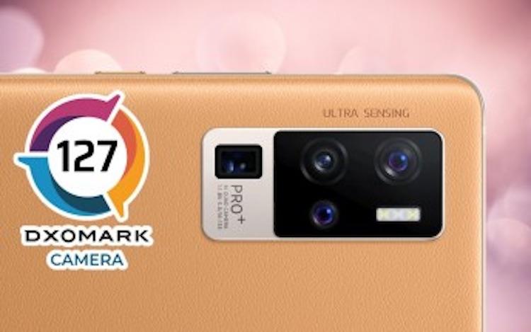 Vivo X50 Pro+ попал в тройку лидеров рейтинга камерафонов DxOMark