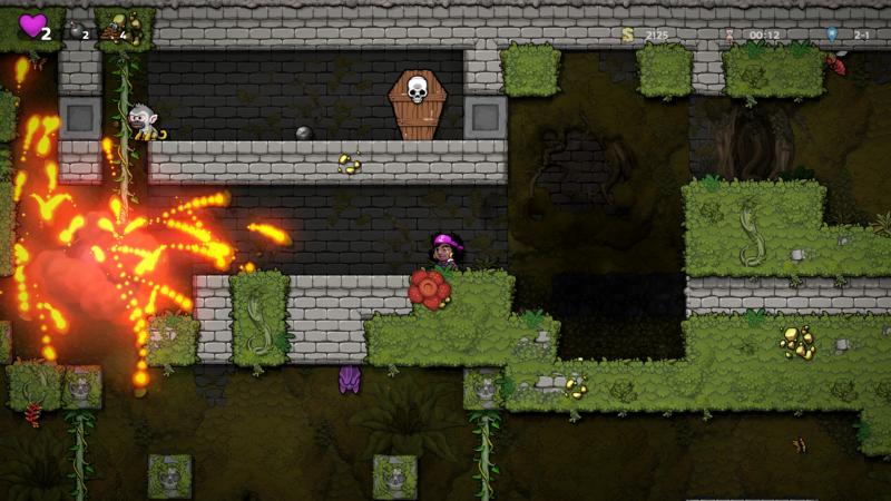 Ощутите брутальность Spelunky 2: новых игровых персонажей мы находим… в гробах