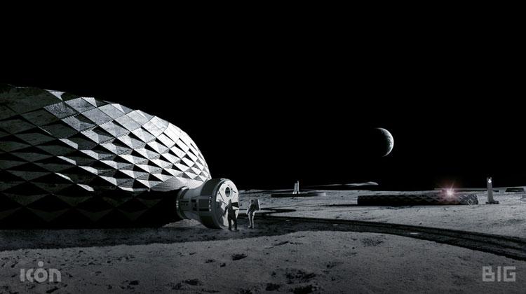 Модное архитектурное бюро поможет NASA возвести места обитания на Луне