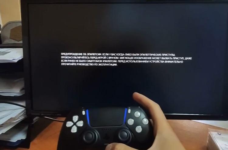 Неподтверждённое видео запуска PS5 с чёрным контроллером: холодный старт занимает 20 секунд