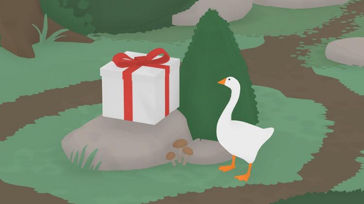 Розничное издание Untitled Goose Game дебютировало на 34-м месте