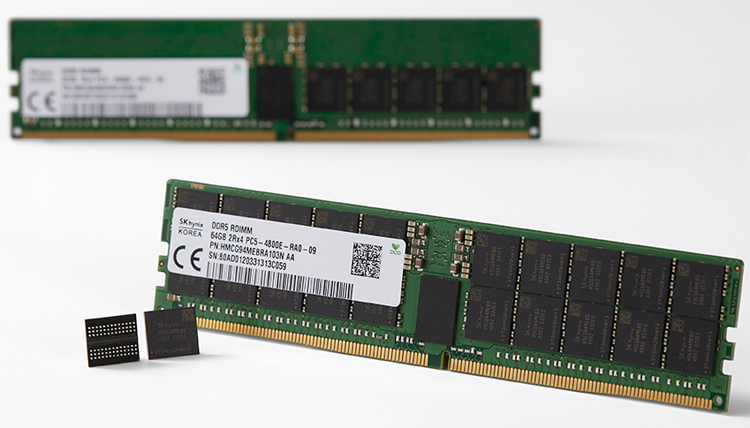 Представлена первая в мире оперативная память DDR5. Ёмкость модулей может достигать 256 Гбайт