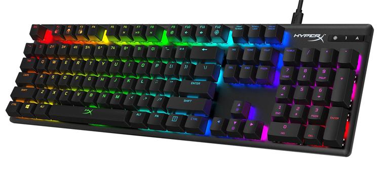 Механическая клавиатура HyperX Alloy Origins получила синие переключатели