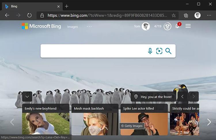 Поисковая система Bing стала называться Microsoft Bing