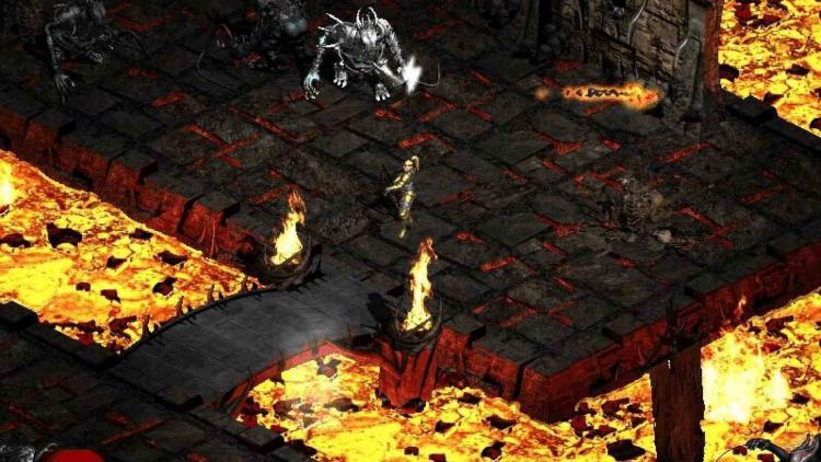 Роглайк с PvP-битвами: для Diablo II вышла масштабная модификация Leoric's Castle