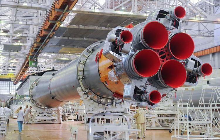 Ракета-носитель «Союз-2», котрую заменит «Амур» (фото Сергей Фадеичев/ТАСС)