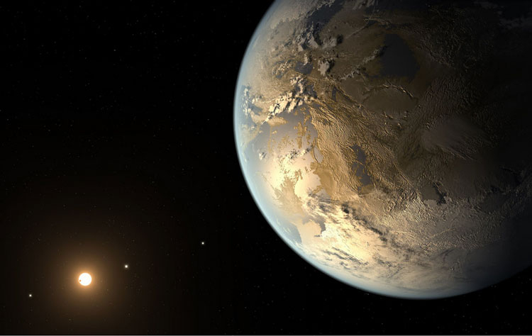 Экзопланета в представлении художника (источник изображения NASA Ames/SETI Institute/JPL-Caltech)