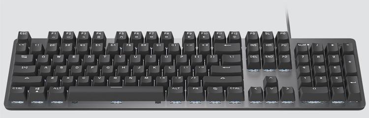 """Для клавиатуры с подсветкой Logitech K845 доступны на выбор различные механические переключатели"""""""