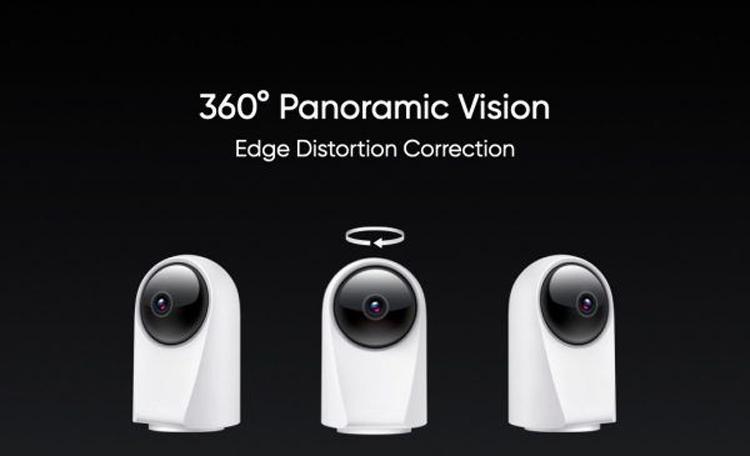 Realme оценила панорамную камеру наблюдения Smart Cam 360° для умного дома в $40