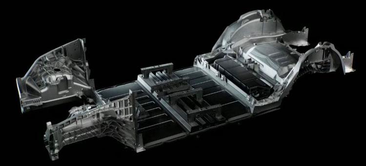 Блок аккумуляторов станет неотъемлемой частью конструкции корпуса немецкой Model Y