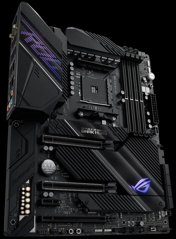 """ASUS анонсировала платы ROG Crosshair VIII Dark Hero и ROG Strix B550-XE для грядущих процессоров AMD на Zen 3"""""""
