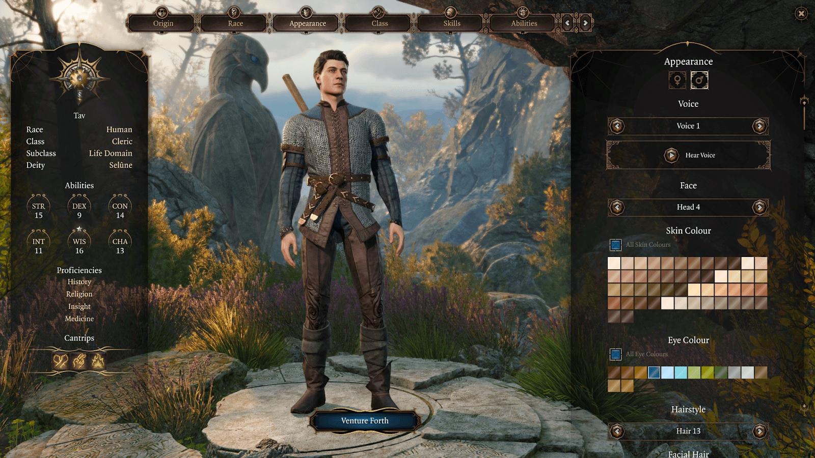 Гра має широкі можливості кастомізації персонажа