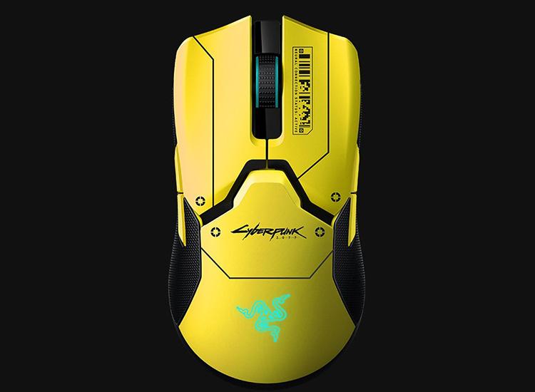 "Razer представила версию мыши Viper Ultimate в стилистике Cyberpunk 2077"""