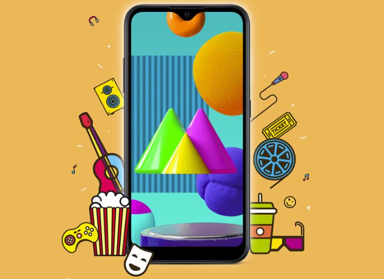 Galaxy M01 / Изображение Samsung