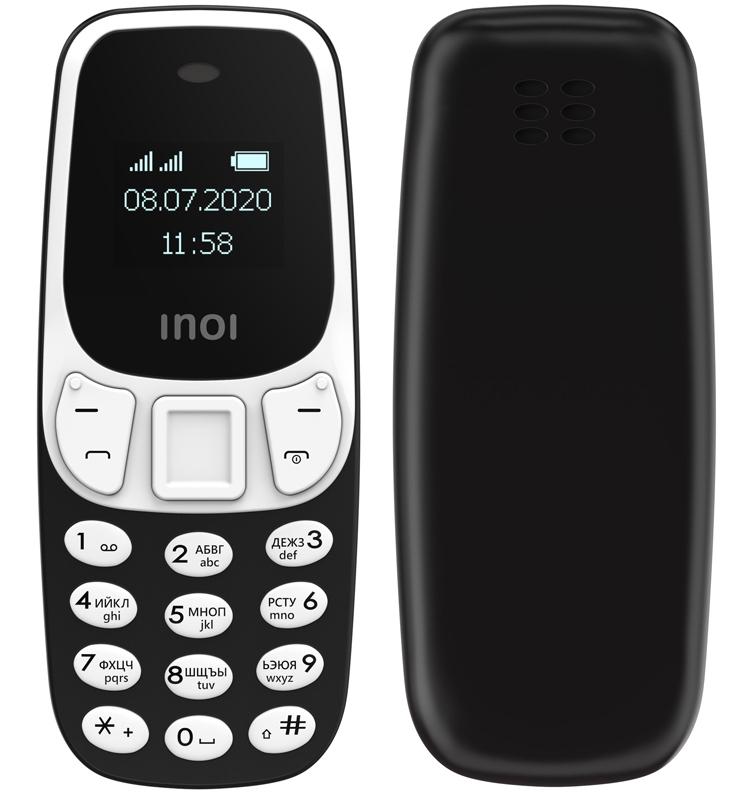 """Представлен самый маленький российский телефон INOI 102: всего 22 грамма и цена в 990 рублей"""""""
