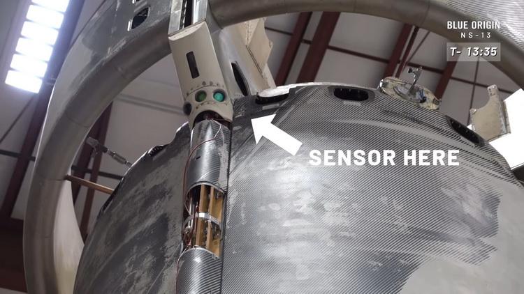 Один из сенсоров системы точной посадки SPLICE