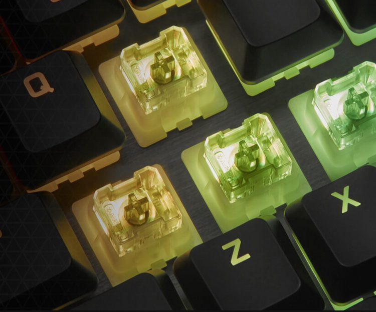 Corsair выпустила доступные механические клавиатуры K60 Pro на немецких переключателях Cherry Viola