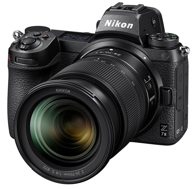 Флагманские беззеркальные камеры Nikon Z6 II и Z7 II получили по два процессора Expeed 6 и защищённые корпуса